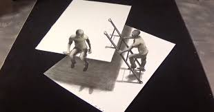 image credit drawing 3d art