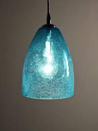 Blue Glass Pendant Light Fixture Dining Room Bright Ideas Sea Glass Pendant Light 28 From