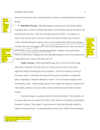 sample apa paper format  4 sample apa paper format