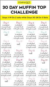 30 day in top challenge for y waistline femniqe