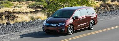 What Are The 2019 Honda Odyssey Color Options