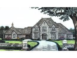 massive stone covered european luxury house