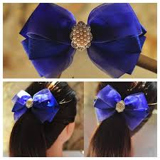 view in gallery bow hairclip wonderful diy f2