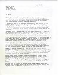 A Letter From Ray Jasper Who Is About To Be Executed