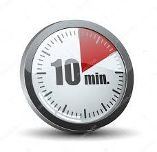 10 Minuite Timer 10 Minutes Timer Stock Vector Yuriy_vlasenko 47722715