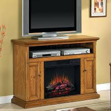 electric fireplace tv stand oak white s home design modern ideas