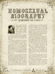 ggb print advert by leiaute homosexual biography leonardo da  ggb print ad homosexual biography leonardo da vinci