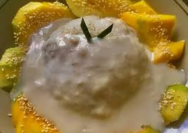 Cara Gampang Menyiapkan Mango Sticky Rice No Santan Anti Gagal | Paduan  Masakan Nusantara