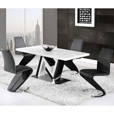 dining room glamorous modern dining room tables rectangular shape wood top material stainless steel base pedestal