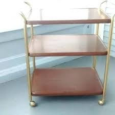 rolling carts for office. Rolling Office Cart Carts Bar Utility Plant Stand For