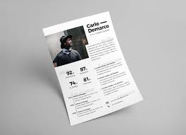 Free Modern Resume For Job In Ai Format For Interior Designers