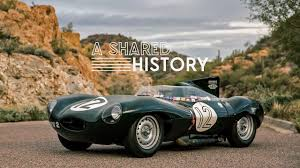This 1954 Jaguar D-Type Represents A Shared History - YouTube