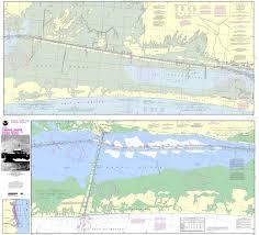 Noaa Chart 11306 Intracoastal Waterway Laguna Madre Middle Ground To Chubby Island
