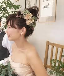 前髪ありが自分らしいおでこを隠したい花嫁さん向けの定番かわいい前髪