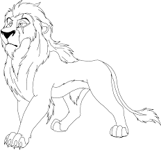 Lion King Coloring Pages Getcoloringpagescom