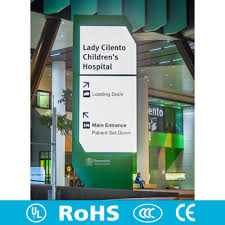 Customized Led Stand Directional Signage Led Exit Sign Outdoor Led Digital Sign Board For Hospital Building Sign Project Buy Outdoor Signage Indoor