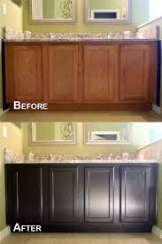 Kitchen Cabinets In Bathroom Confessions Of A Semi Domesticated Mama How To Gel Stain Your