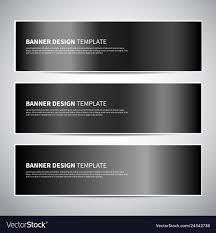Black Shiny Texture Gradients Templates Set