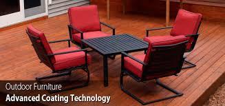 Ornamental Iron Powder Coating  Ornamental Costing  Refinishing Powder Coated Outdoor Furniture