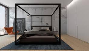 15 Modern Canopy Bed Designs and Statements - Home Loof