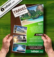 Free Asia Travel Packages Promo Flyer Psd Template Indiater