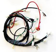 buggy wiring harness loom gy6 150cc chinese electric start kandi product information
