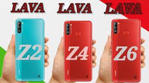 LAVA Z2 VS LAVA Z4 VS LAVA Z6 - YouTube