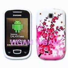 samsung galaxy s5 protective cases for girls. samsung galaxy mini gt-s5570 white floral rear tpu gel cover protector skin case s5 protective cases for girls