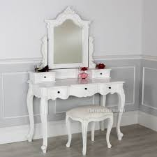 innovative makeup vanity table canada and furniture with lights lighted fabric