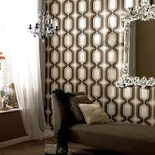 Wallpaper To Decorate Room 25 Awesome Rooms That Inspire You To Try Out Geometric Wallpaper
