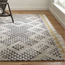 Crate and Barrel Exclusive. Thea Hand Hooked Wool Rug