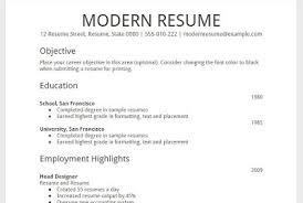 Free Modern Resume Templates Google Docs Google Docs Resume Template Free Viaweb Co