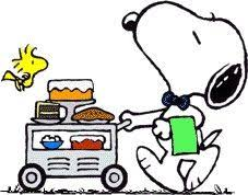 Image result for snoopy and dessert