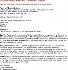 Insurance Underwriter Cover Letter Examples Cover Letter