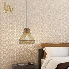 Moderne Eenvoudige Roomwit Light Grey Effen Kleur Reliëf Geweven