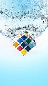 Rubik's Cube Splash Water 4K Ultra HD ...