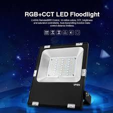 futt03 ac 85v 265v 30w 2 4g wifi rgb cct led floodlight rgb