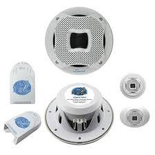 amazon com lanzar aq65cmw 500 watts 6 5 inch 2 way marine component lanzar aq65cmw 500 watts 6 5 inch 2 way marine component system white