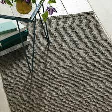 jute boucle rug clay
