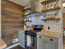 Polished Kitchen Floor Tiles Country Kitchen With Flush Flat Panel Cabinets In Portland Or