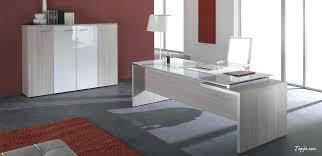 modern full glass desk. contemporary executive glass office desk home modern design table full