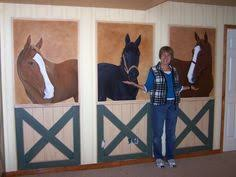 Girls Horse Bedroom Decor   Horse Stable Playroom, Its Not Decorated Yet  But The Girls Room Is .