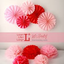 diy tissue paper fan decorations do it your self