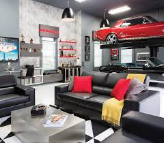 Room Envy A Briarcliff garage becomes an upscale man cave Atlanta