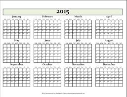Annual Calendar 2015 Blank Annual Calendar Calendar Yearly Calendar Printables