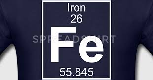 Element 26 - Fe (iron) - Full T-Shirt | Spreadshirt