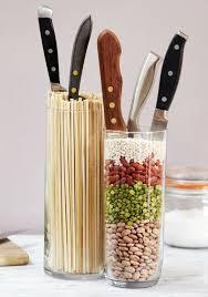 Image of: Glass Knife Storage Ideas