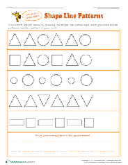 Check spelling or type a new query. Preschool Shapes Worksheets Free Printables Education Com