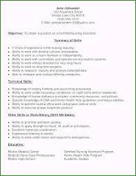 cna resume skills 44 unforgettable cna resume sample for hospital for your job