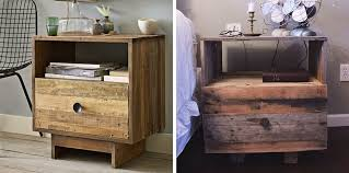 gorgeous diy nightstand ushers in a touch of vintage view in gallery